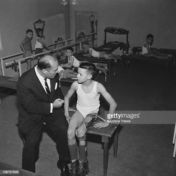 FranceRehabilitation Center For Children Stricken By Poliomyelitis In 1956