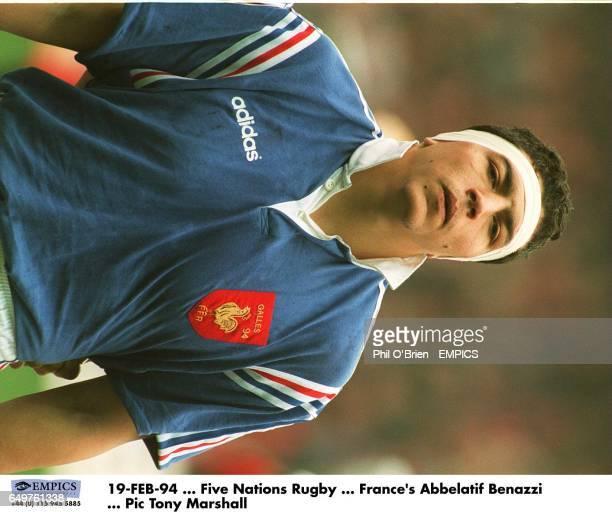 France's Abdelatif Benazzi