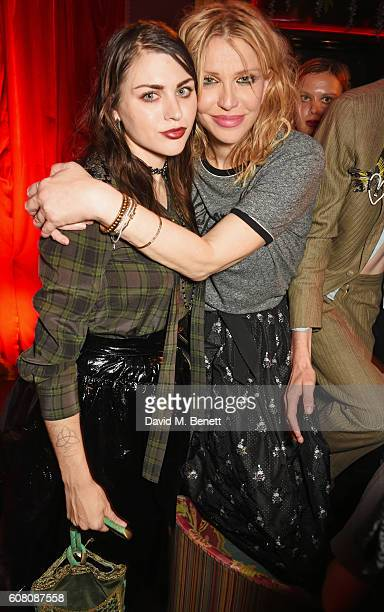 Frances Bean Cobain and Courtney Love attend LOVE Magazine and Marc Jacobs LFW Party to celebrate LOVE 165 collector's issue of LOVE and Berlin 1989...