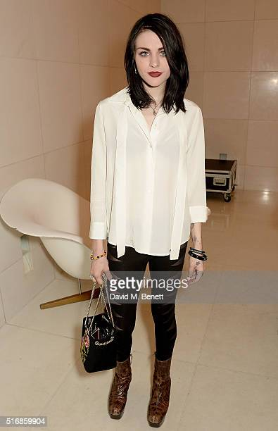 Frances Bean Cobain attends a special In Conversation event with Courtney Love as part of the Liberatum 'Women in Creativity' series presented by St...