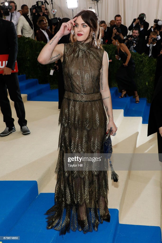 Frances Bean Cobain attends 'Rei Kawakubo/Commes Des Garcons: Art of the In-Between' at Metropolitan Museum of Art on May 1, 2017 in New York City.
