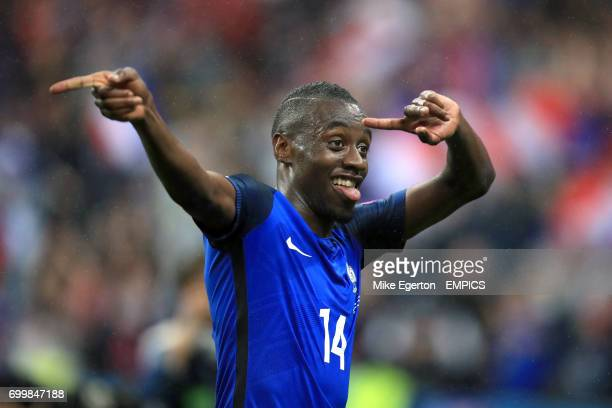 France's Blaise Matuidi celebrates victory after the final whistle