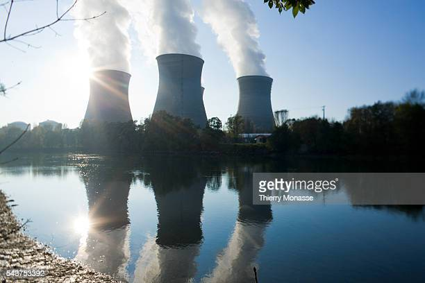 France's Bugey nuclear power plant is seen on the banks of the Rhone river in SaintVulbas near Lyon