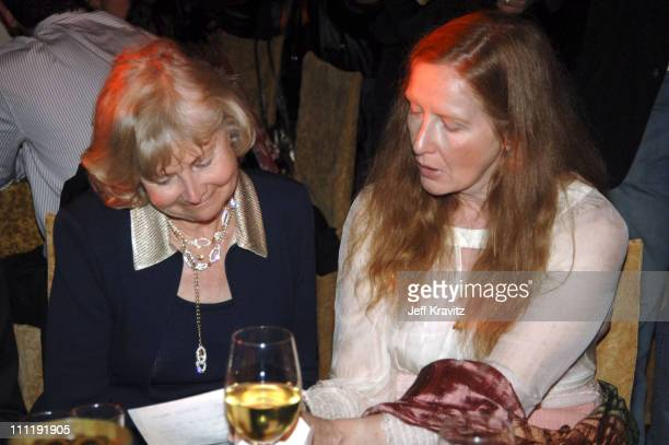 Frances Conroy and guest during HBO's 'Six Feet Under' Season 5 Premiere After Party at Grauman's Chinese Theater in Hollywood California United...