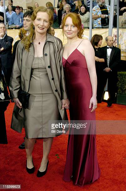 Frances Conroy and Lauren Ambrose during The 10th Annual Screen Actors Guild Awards Arrivals at The Shrine Auditorium in Los Angeles California...