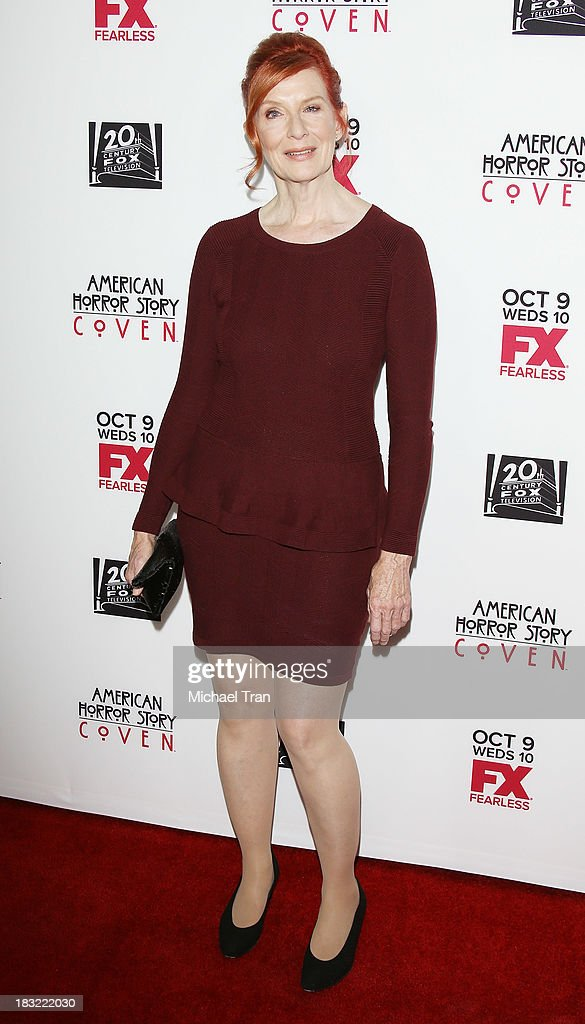 Frances Conroy arrives at the premiere of FX's 'American Horror Story: Coven' held at Pacific Design Center on October 5, 2013 in West Hollywood, California.