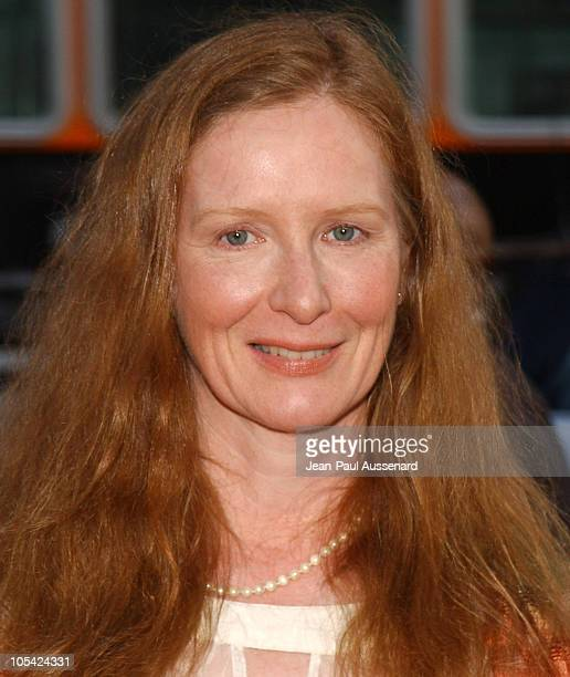 Frances Conroy during HBO's 'Six Feet Under' Season 5 Premiere at Chinese Theater in Hollywood California United States