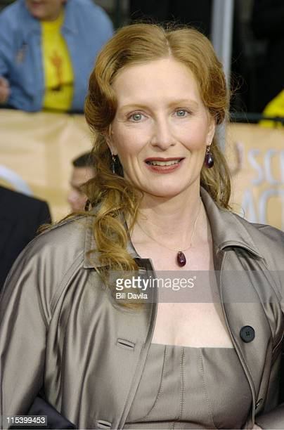 Frances Conroy during The 10th Annual Screen Actors Guild Awards Arrivals at The Shrine Auditorium in Los Angeles California United States