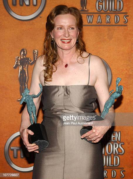 Frances Conroy winner of Outstanding Performance by a Female Actor in a Drama Series and Outstanding Performance by an Ensemble in a Drama Series for...
