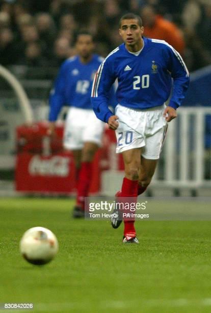 France's David Trezeguet during the international friendly match between France and Scotland at the Stade De France