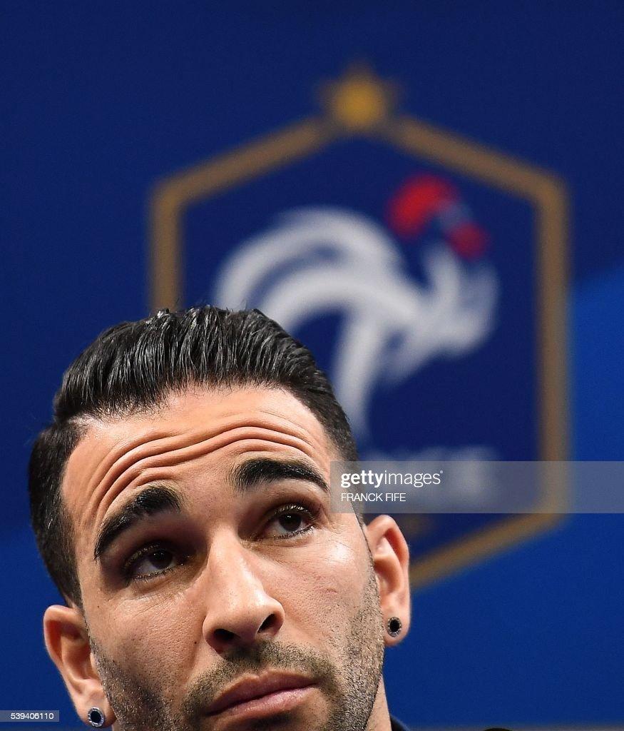 Adil Rami: EURO2016 - France Training And Presser