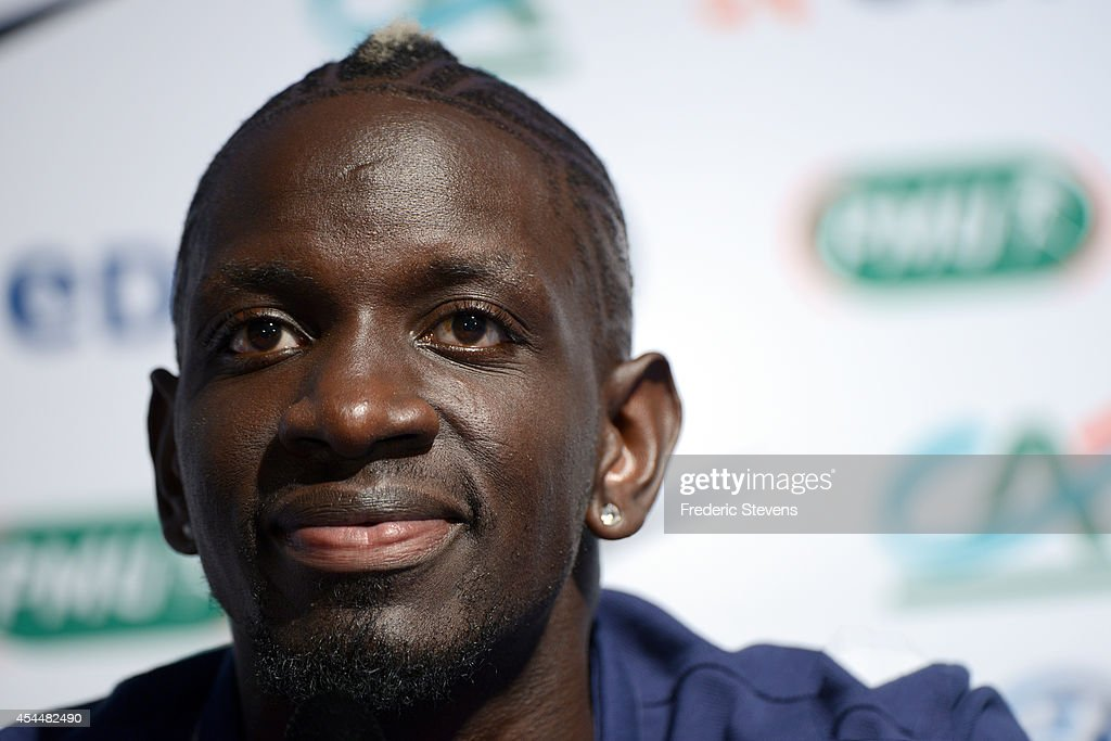 France's defender <a gi-track='captionPersonalityLinkClicked' href=/galleries/search?phrase=Mamadou+Sakho&family=editorial&specificpeople=4154099 ng-click='$event.stopPropagation()'>Mamadou Sakho</a> during a press conference at center training of the French national football team, on September 1, 2014, Clairefontaine en Yvelines, France. The first day of their training ahead before the friendly football match against Spain team.