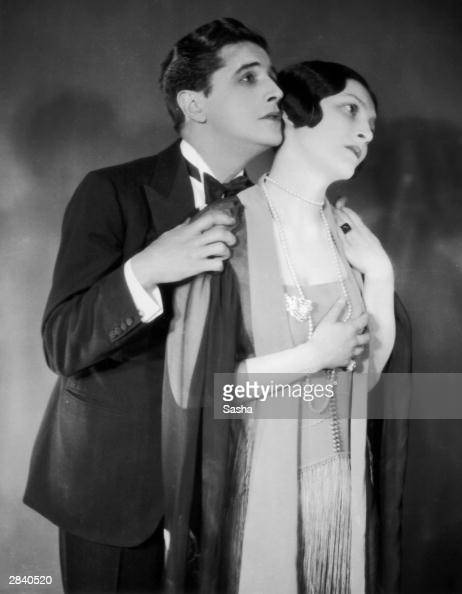 Frances Doble appears with Ivor Novello in the play 'Downhill' showing at the Queen's Theatre 19th June 1926