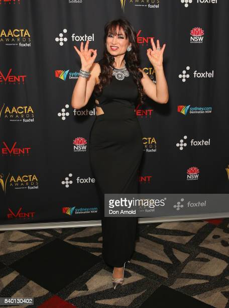 Frances Duca attends the AACTA Festival of Australian Film opening night at Event Cinemas Bondi Junction on August 28 2017 in Sydney Australia