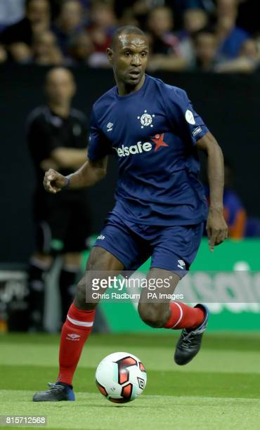 France's Eric Abidal during the final of the Star Sixes Tournament at The O2 Arena London PRESS ASSOCIATION Photo Picture date Sunday July 16 2017...