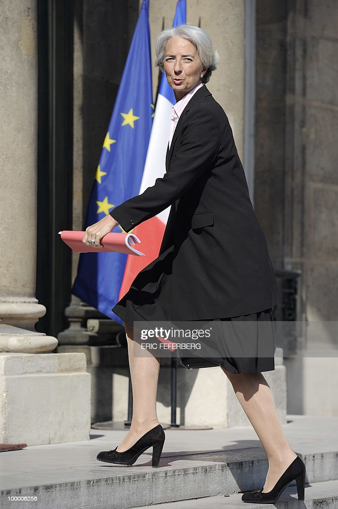 France's Finance Minister Christine Laga
