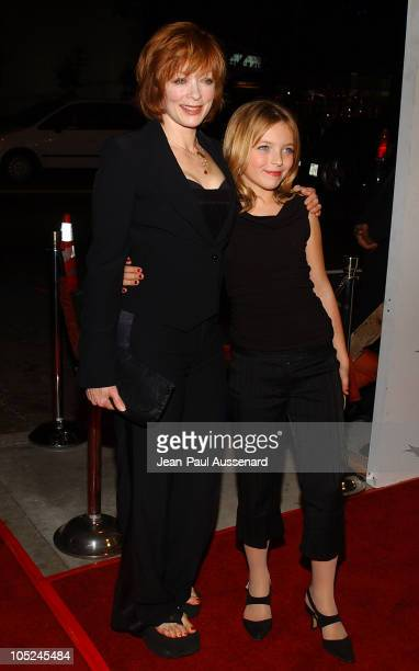 Frances Fisher and daughter Francesca FisherEastwood
