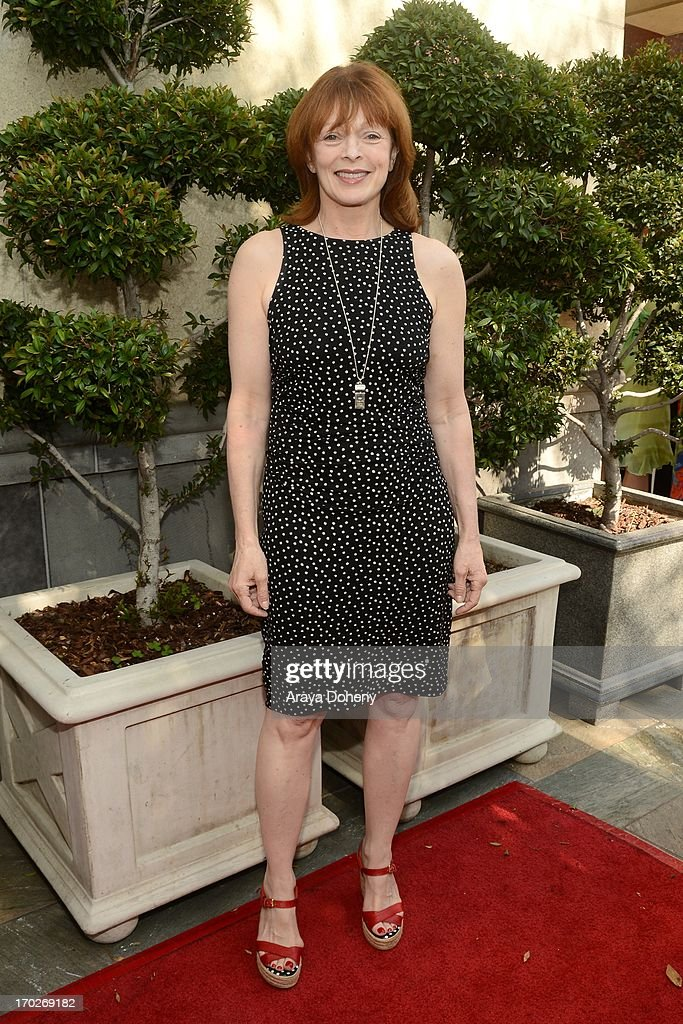 <a gi-track='captionPersonalityLinkClicked' href=/galleries/search?phrase=Frances+Fisher&family=editorial&specificpeople=211520 ng-click='$event.stopPropagation()'>Frances Fisher</a> arrives at The Actors Fund 17th Annual Tony Awards Viewing Party held at Taglyan Cultural Complex on June 9, 2013 in Hollywood, California.