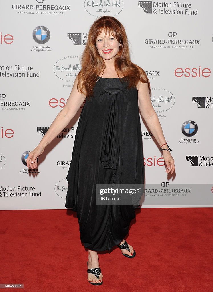 <a gi-track='captionPersonalityLinkClicked' href=/galleries/search?phrase=Frances+Fisher&family=editorial&specificpeople=211520 ng-click='$event.stopPropagation()'>Frances Fisher</a> attends the 100th anniversary celebration of the Beverly Hills Hotel & Bungalows supporting the Motion Picture & Television Fund and the American Comedy Fund hosted by Brett Ratner and Warren Beatty at The Beverly Hills Hotel on June 16, 2012 in Beverly Hills, California.