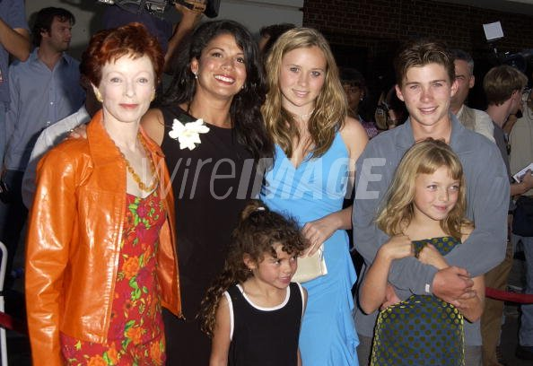 Frances Fisher Dina Eastwood and kids Scott Kathryn ...