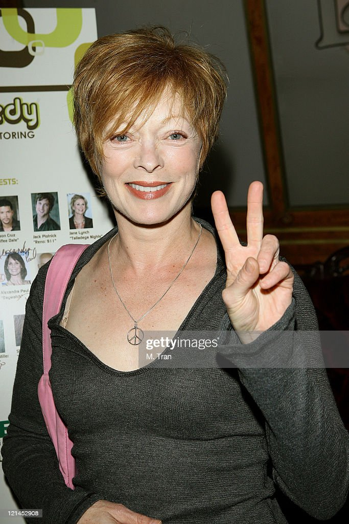 <a gi-track='captionPersonalityLinkClicked' href=/galleries/search?phrase=Frances+Fisher&family=editorial&specificpeople=211520 ng-click='$event.stopPropagation()'>Frances Fisher</a> during First Annual 'Friends for Life: A Night of Comedy' to Benefit LifeWorks Mentoring at Laugh Factory in West Hollywood, California, United States.