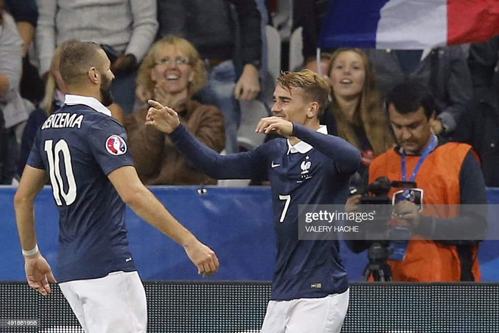 FBL-EURO-2016-FRA-ARM-FRIENDLY : News Photo