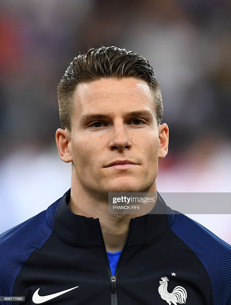 France s forward Kevin Gameiro is pictured prior to the friendly