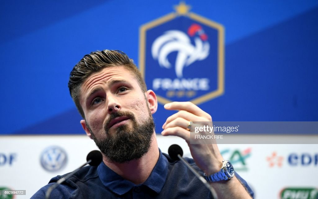Image result for giroud press conference