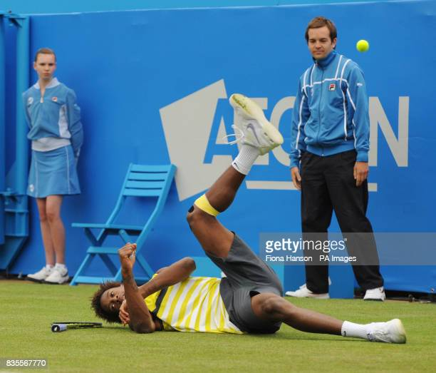 France's Gael Monfils during day two of the AEGON Championships at The Queen's Club London