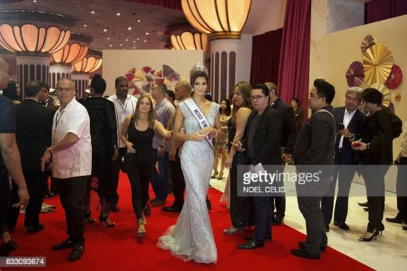 Iris Mittenaere - MISS UNIVERSE 2016 - Official Thread  Frances-iris-mittenaere-arrives-at-the-miss-universe-afterparty-red-picture-id633093674?s=594x594