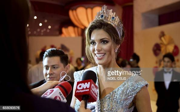 Iris Mittenaere - MISS UNIVERSE 2016 - Official Thread  Frances-iris-mittenaere-talks-to-the-press-as-she-arrives-at-the-miss-picture-id633093576?s=594x594