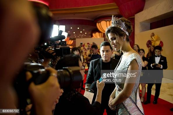 Iris Mittenaere - MISS UNIVERSE 2016 - Official Thread  Frances-iris-mittenaere-talks-to-the-press-as-she-arrives-at-the-miss-picture-id633093702?s=594x594
