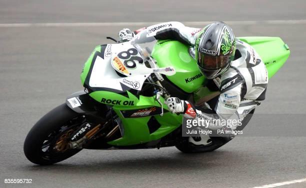 France's Julien Da Costa during Race One at Donington Park Race Circuit Castle Donington