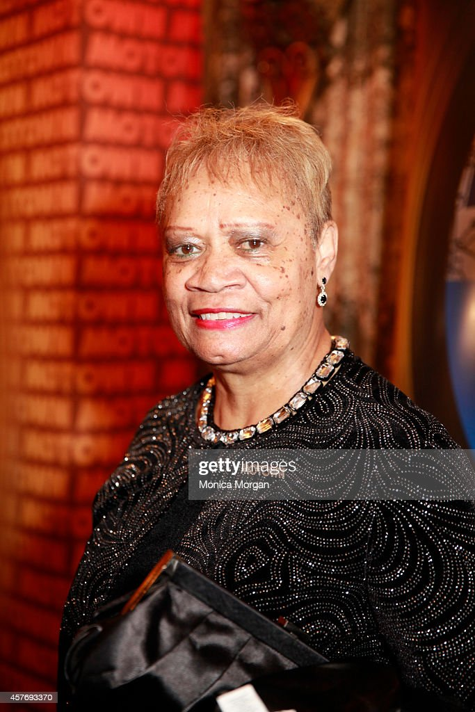 Frances Maclin attends the opening night of 'Motown The Musical' at The Fisher Theatre on October 22 2014 in Detroit Michigan