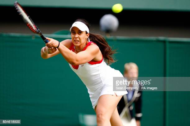 France's Marion Bartoli in action against Germany's Sabine Lisicki