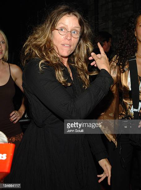 Frances McDormand during 2005 Toronto Film Festival 'North Country' After Party at The Distillery in Toronto Canada