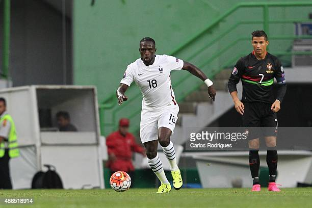 France's midfielder Moussa Sissoko during the Friendly match between Portugal and France on September 04 2015 in Lisbon Portugal