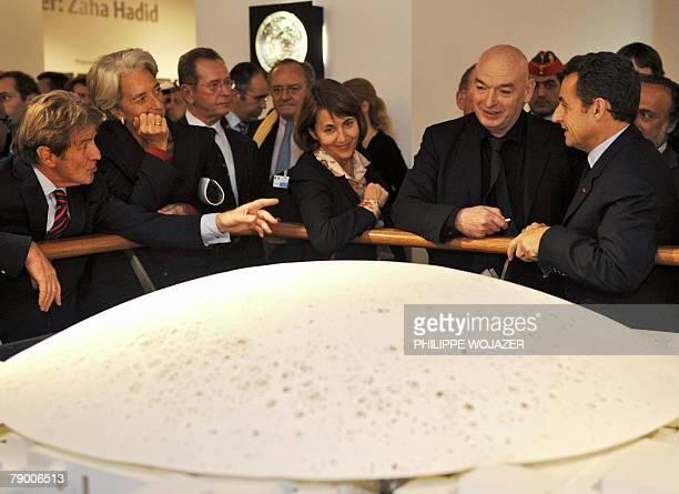 France's Minister of Foreign Affair Bernard Kouchner France's Minister of Economy and Finance Christine Lagarde France's Minister of Culture...