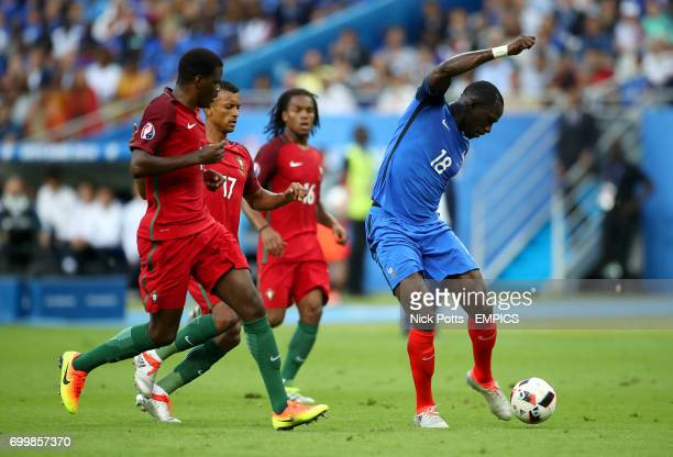 France's Moussa Sissoko in action against Portugal's Nani and