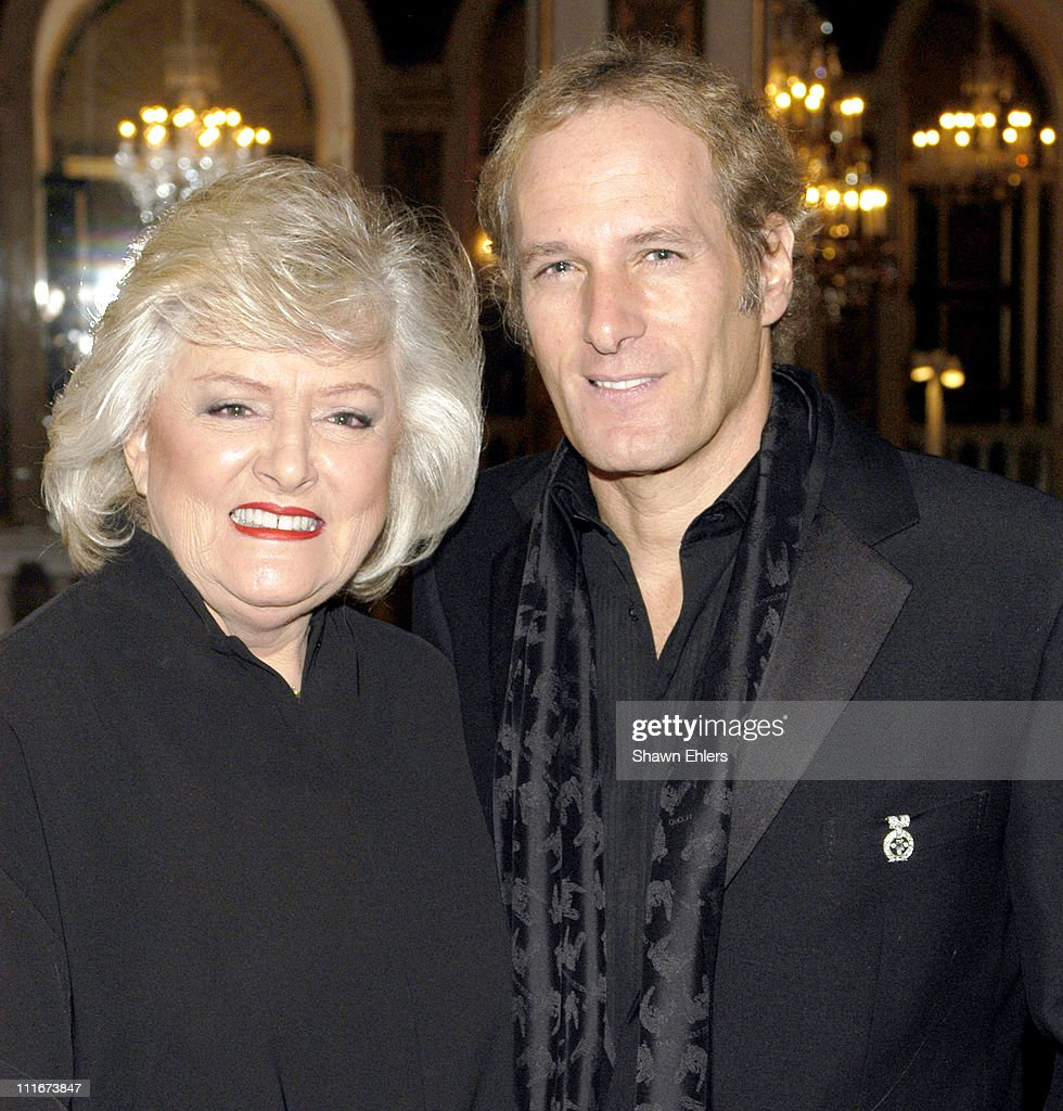 Frances Preston and Michael Bolton during The Broadcasters Foundation Presents their 2004 Golden Mike Award to Frances W. Preston of BMI at Plaza Hotel in New York City, New York, United States.