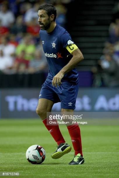 France's Robert Pires during the final of the Star Sixes Tournament at The O2 Arena London PRESS ASSOCIATION Photo Picture date Sunday July 16 2017...