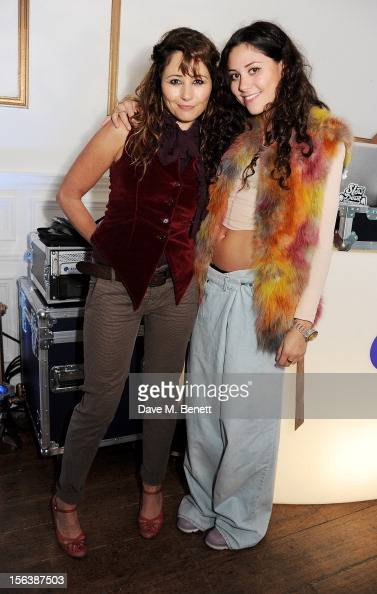 Frances Ruffelle and Eliza Doolittle attend a party celebrating the partnership between international fashion retailer Claire's and the...
