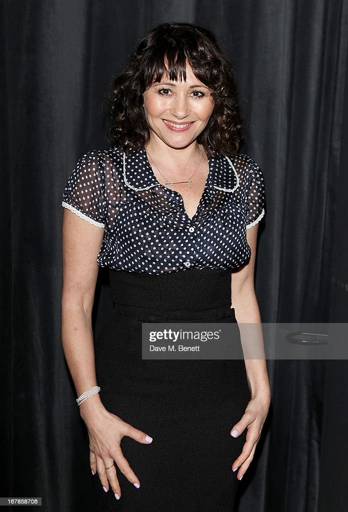 Frances Ruffelle attends an after party celebrating the press night performance of the Menier Chocolate Factory's 'Merrily We Roll Along', following its transfer to the Harold Pinter Theatre, at Grace Restaurant on May 1, 2013 in London, England.