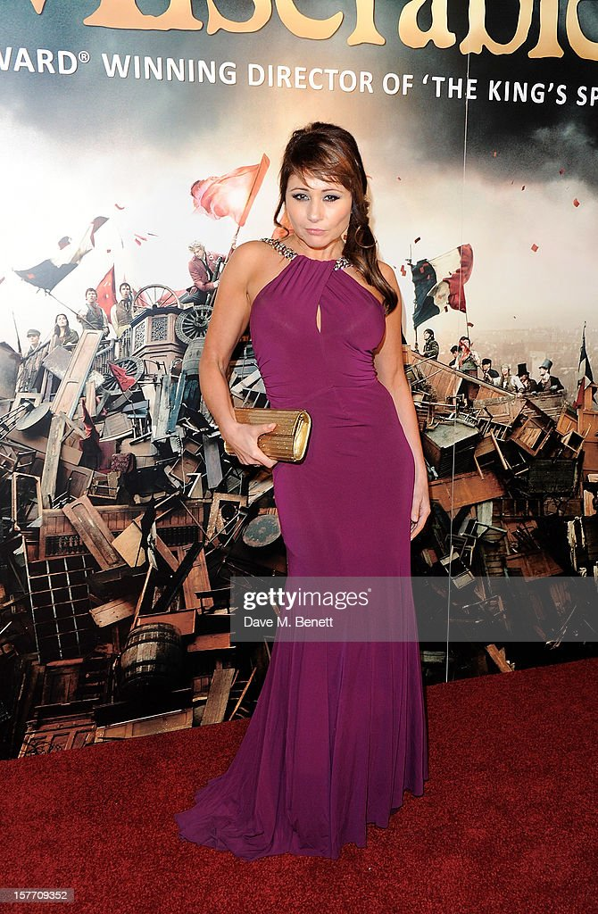 Frances Ruffelle attends an after party following the World Premiere of 'Les Miserables' at The Roundhouse on December 5, 2012 in London, England.