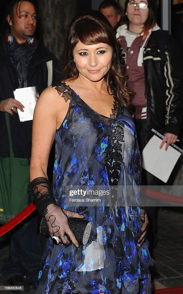 Frances Ruffelle attends the UK Premiere of 'UFO' on December 13, 2012 in London, England.