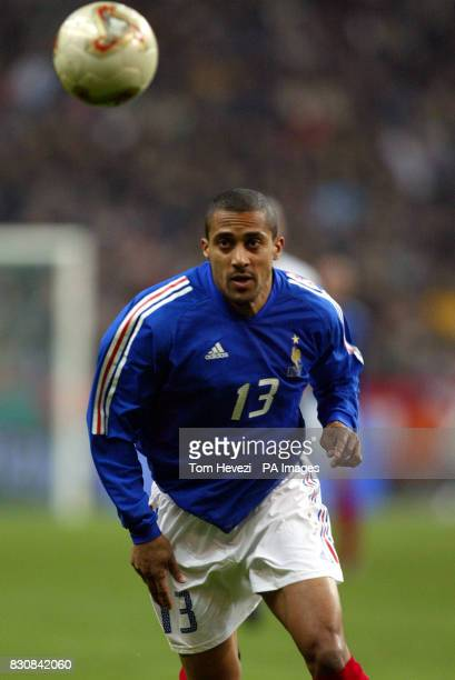 France's Steve Marlet in action during the International friendly match between France and Scotland at the Stade De France