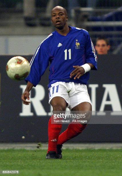 France's Sylvain Wiltord in action during the friendly international match between France and Scotland at the Stade De France