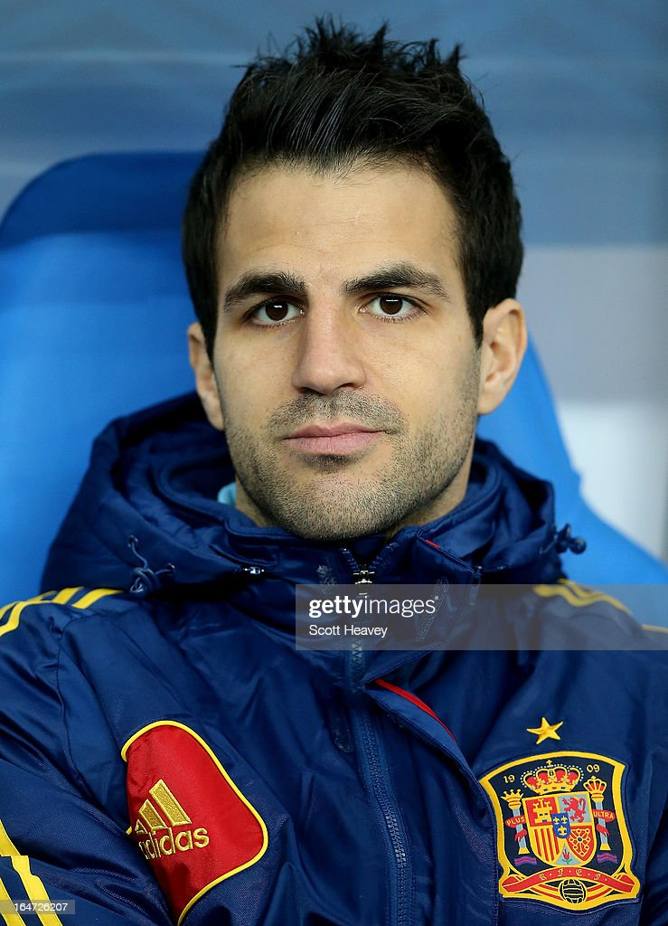 Francesc Fabregas of Spain during a FIFA 2014 World Cup Qualifier between France and Spain at Stade de France on March 26, 2013 in Paris, France.