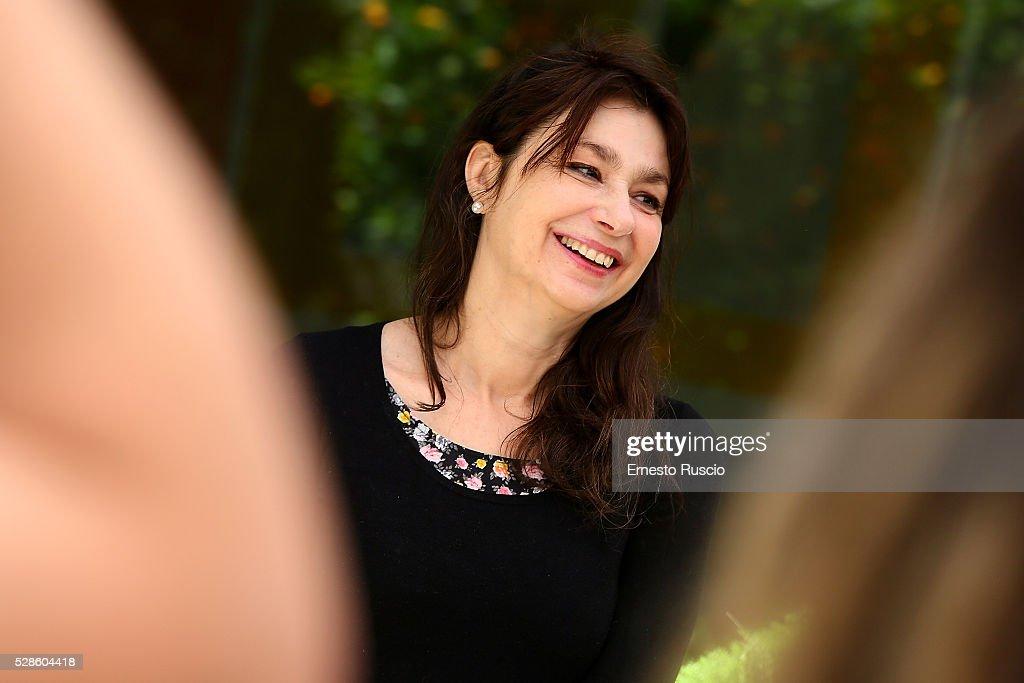 Francesca Archibugi attends the 'La Pazza Gioia' photocall at Hotel Visconti on May 06, 2016 in Rome, .