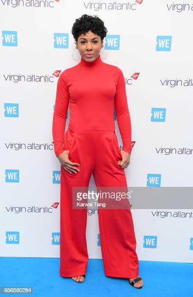 Francesca Brown attends WE Day UK at The SSE Arena on March 22 2017 in London United Kingdom